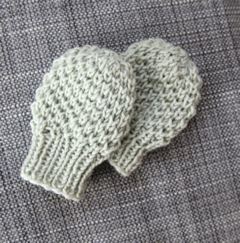 knitting pattern baby mittens thumbless mittens for baby knitting and other stitches