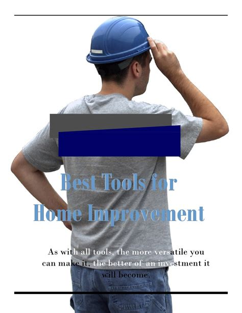 best tools for home improvement