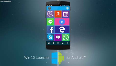 download themes android terbaik دانلود لانچر ویندوز 10 برای اندروید win 10 launcher pro
