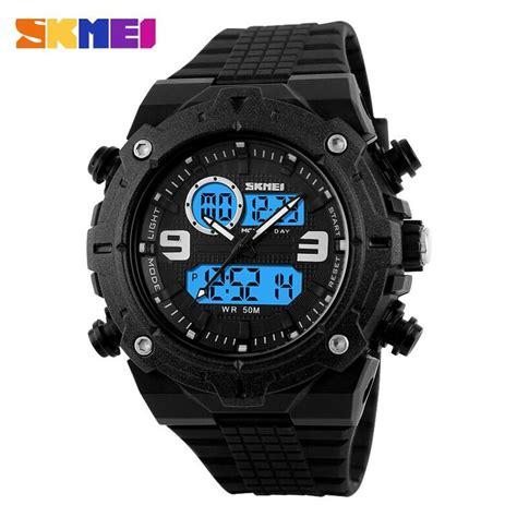 Jam Tangan Skmei Analog Digital Pria Ad1204 Termurah skmei jam tangan analog digital pria ad1156 black jakartanotebook