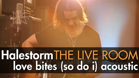 Halestorm Live Room by Halestorm Quot Bites So Do I Quot Acoustic Captured In The Live Room
