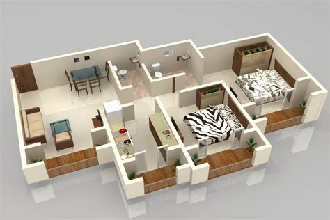 Floor Plan In 3d | 3d floor plan by atul gupta at coroflot com