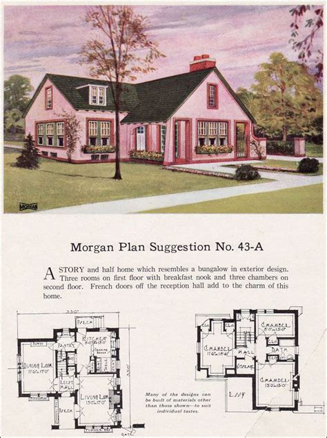 guide to mid century homes 1930 1965 english style english and house tudor revival cottage house plans