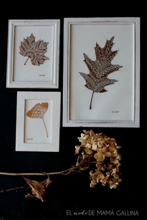 decorar con hojas secas de otoño m 225 s de 25 ideas incre 237 bles sobre hojas en pinterest