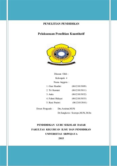 Metode Penelitian Pendidikan Prof Sugiono pelaksanaan penelitian kuantitatif prof dr sugiyono