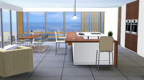 sims kitchen ideas kitchen moderno the sims 3