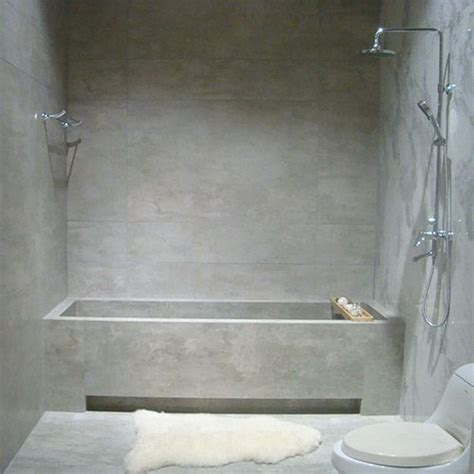 polished concrete in bathroom 1000 ideas about polished porcelain tiles on pinterest