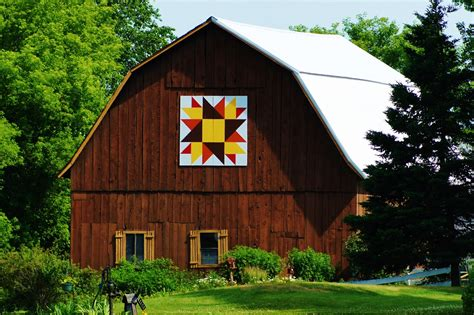 Quilt Barns by Collections By Carol Quilt Barn Shawano County