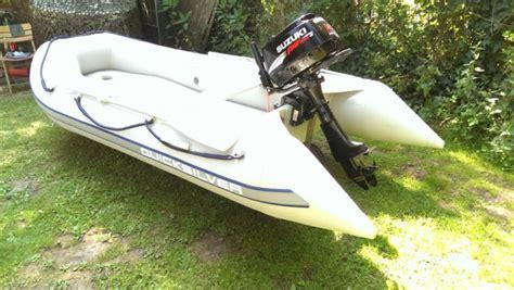 Gebrauchte 5 Ps Motoren by Schlauchboot Quicksilver 340 Mit Suzuki 5 Ps 4takt Motor