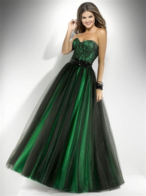 Dress Green green prom dresses dressed up