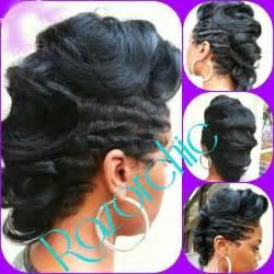 rods and finger wave hair styles finger wave mohawk all hair black hair styles make up pinterest finger waves mohawks