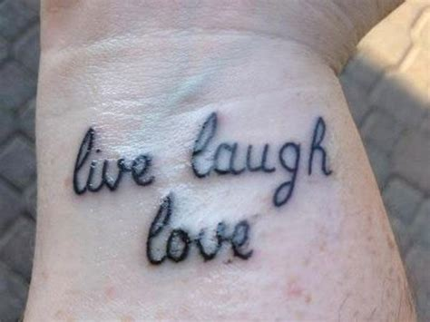 tattoo pain wrist 113 best live laugh love images on pinterest decorate