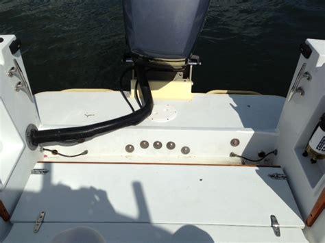 boat transom cracks cracks on transom the hull truth boating and fishing forum