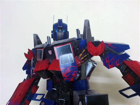 Papercraft Transformers Optimus Prime - optimus prime papercraft by suraj281191 on deviantart