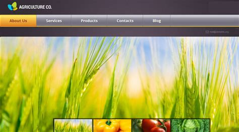 Theme Wordpress Agriculture Free | 20 elegant wordpress responsive agriculture themes