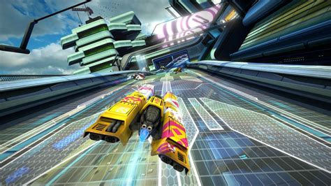 wipeout omega collection racing onto the ps4 summer 2017