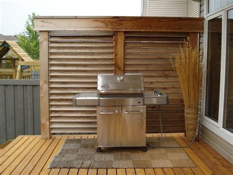 deck privacy wall fences pinterest