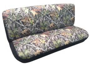 Camo Car Seat Covers Camo Bench Seat Cover Camouflage Forest Gray Fits Chevy