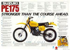 suzuki pe 175 classic review only trail bikes
