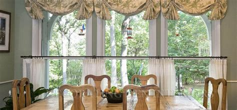 Kitchen Blinds And Shades Ideas french country toile valance window treatments design ideas
