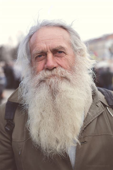 actor with long white beard white beard old man true ukranian on behance