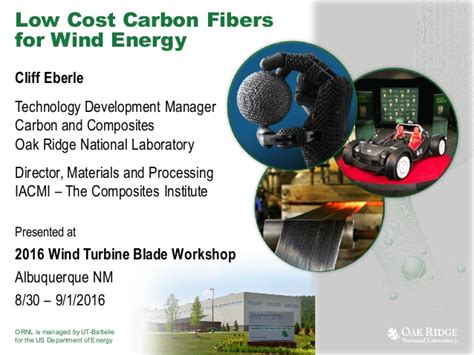 low cost carbon fiber for wind energy
