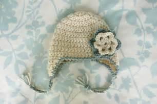 crochet for free newborn earflap hat