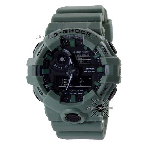 Jam Tangan Pria G Shock Ga 110lp 3a Original Garansi Resmi Casio gambar jam tangan g shock ga 700uc 3a olive green ori bm 187 jamtangantoko