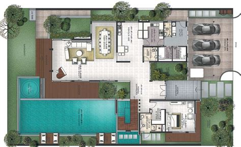 House Plans With Pool House by Prestige Golfshire Golf Villas Nandi Hills Road Bangalore