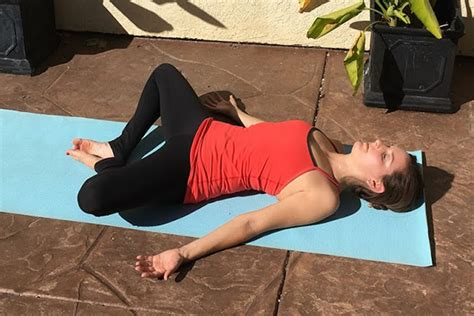 reclining bound angle 6 post feast yoga poses to help your digestion the