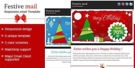festive christmas newsletter template  bluenila themeforest