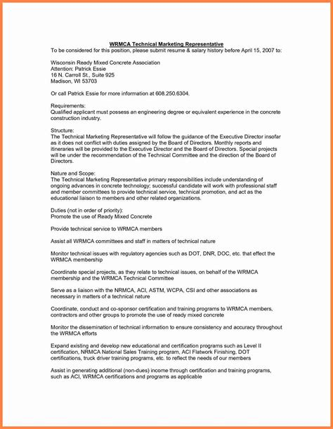 resume with salary history sle sle resume with salary