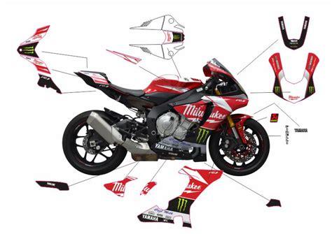 Yamaha R1 2015 Aufkleber by Motorradaufkleber Bikedekore Wheelskinzz Yamaha R1