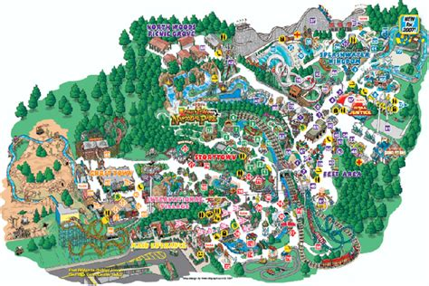 theme park zoo uk theme park or zoo map children can use this to construct a