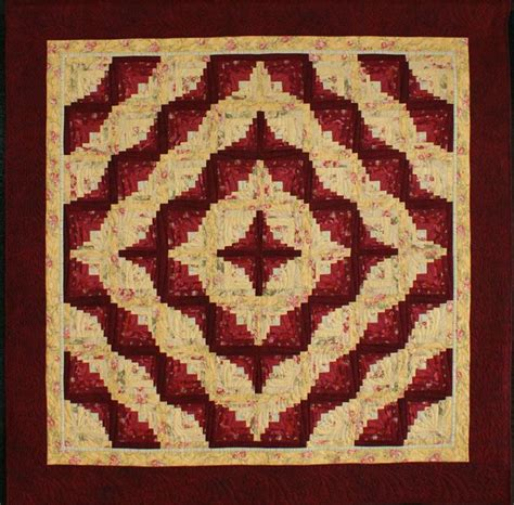 thick and thin log cabin log cabin quilts