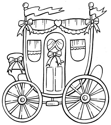 coloring pages and carriage 為孩子們的著色頁 carriage free coloring pages