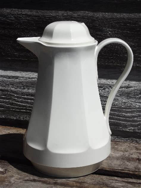 Modern Kitchen Furniture 80s 90s Thermos Coffee Butler Insulated Plastic Carafe