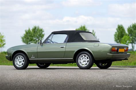peugeot pininfarina peugeot 504 pininfarina cabriolet 1979 classicargarage fr