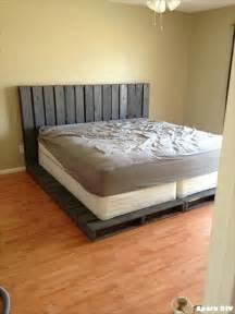 Easy Bed Frame Ideas 42 Diy Recycled Pallet Bed Frame Designs