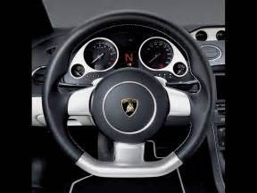 Lamborghini Steering Wheel 2007 Lamborghini Gallardo Nera Steering Wheel 1024x768