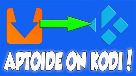 aptoide download for firestick aptoide kodi addon install apk on any android device