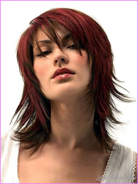 Layered Hairstyles For Thick Hair by Layered Haircuts For With Thick Hair
