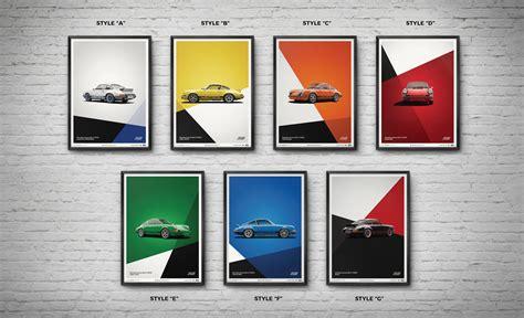 porsche 911 poster porsche 911 rs poster set driver market