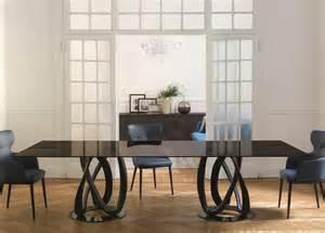 Upholstered Dining Armchairs Porada Infinity Rectangular Dining Table Porada