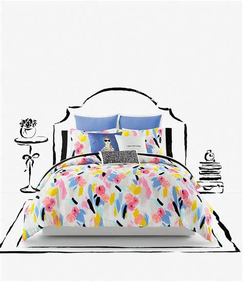 Kate Spade Set 2in1 kate spade new york paintball floral comforter mini set dillards