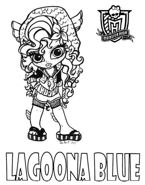 Monster High Lovers Desenhos Para Colorir Baby Baby High Colouring Pages