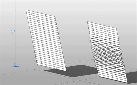 pattern curtain wall revit undulating siding generative forms pinterest
