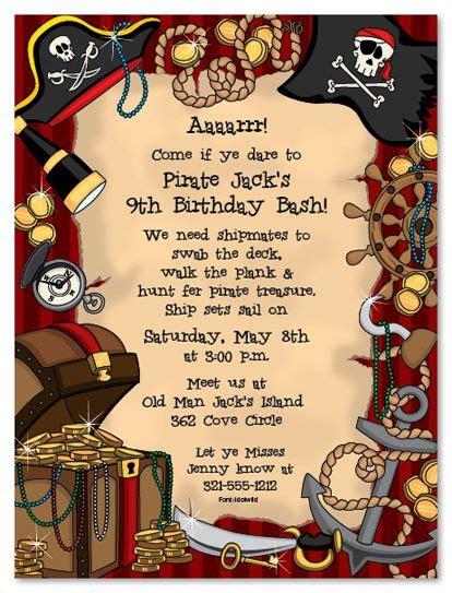 Best 25 Pirate Invitations Ideas On Pinterest Pirate Party Invitations Pirate Party And Pirate Birthday Invitation Template