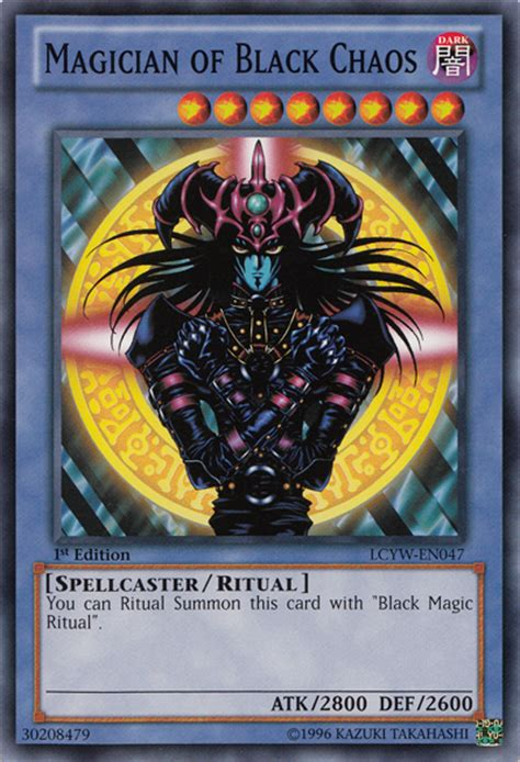 Kaos Yu Gi Oh Magician the gallery for gt yugioh magician of black chaos deck