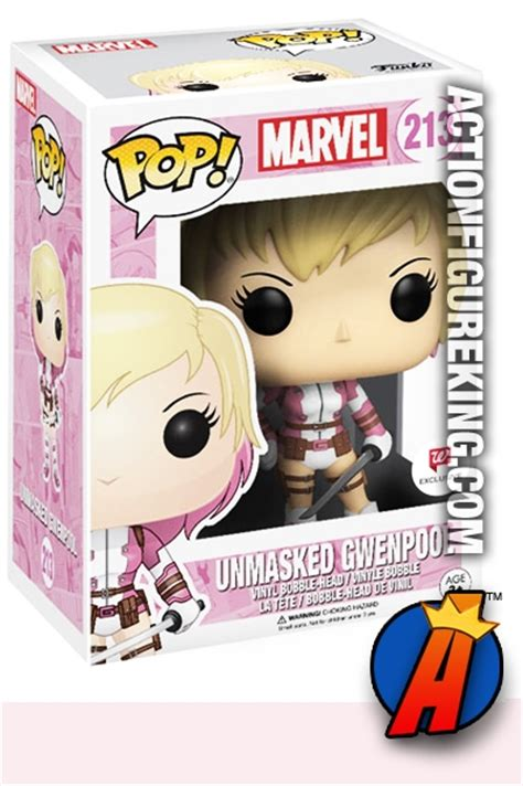 Funko Pop Vinyl Marvel Spider Gwen 100 Original funko pop marvel unmasked gwenpool vinyl figure 213